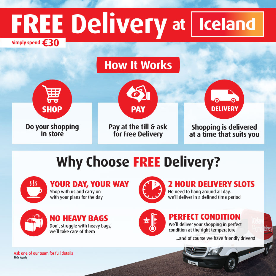 Free Delivery Full Page Image